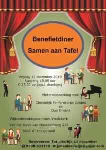 Benefietconcert 'Samen aan tafel' @ Vredekerk | Hoogezand | Groningen | Nederland